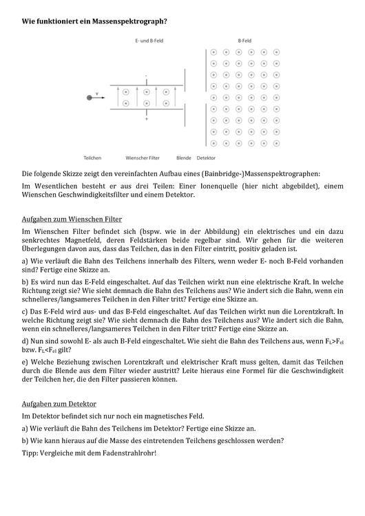 Datei:Arbeitsblatt Massenspektrograph.pdf – KAS-Wiki